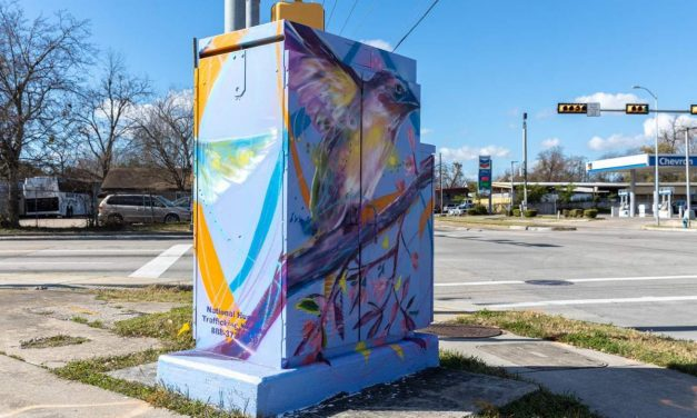 Click2Houston KPRC: Have you seen the new mini murals in Houston? They have an important phone number on them