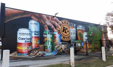 Karbach Brewing Mural