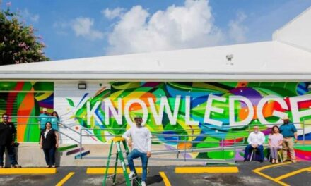 3D Mural Debuts in North Houston District