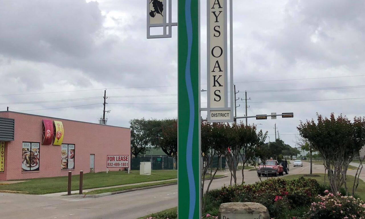 Brays Oaks: Vertical Identification Markers (Design)