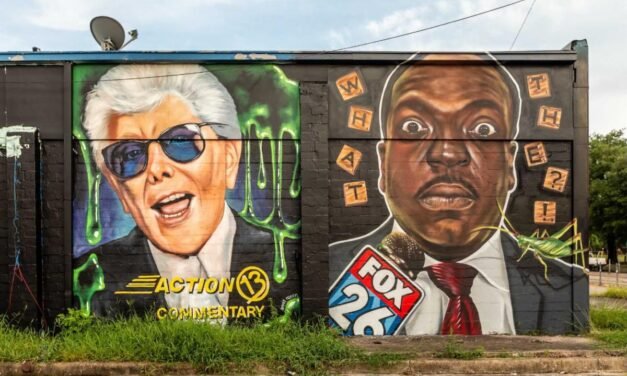 ABC13: Marvin Zindler mural featured in honor of reporter's 100th birthday